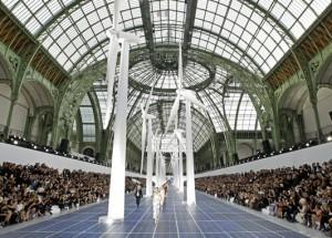 Desfile Chanel noGrande Palácio de Paris