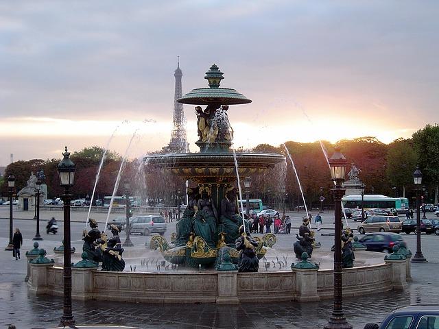 Praça da Concórdia Paris