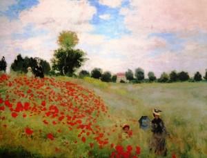 Obra de Claude Monet no Museu deOrsay.