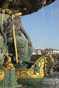Fonte na Praça da Concórdia