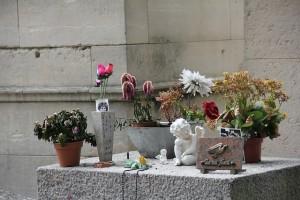 A sepultura de Jim Morrison